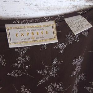Express Skirts - 🍁 Express | Floral Skirt Campaigne International